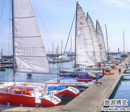 """青岛探索""""帆船 旅游""""发展新路径"""